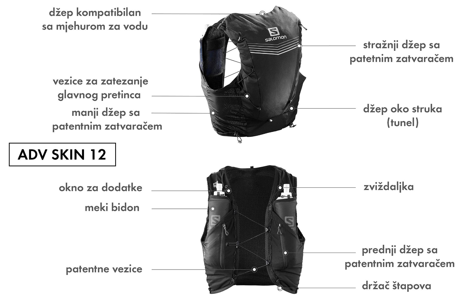 salomon adv skin ruksaci