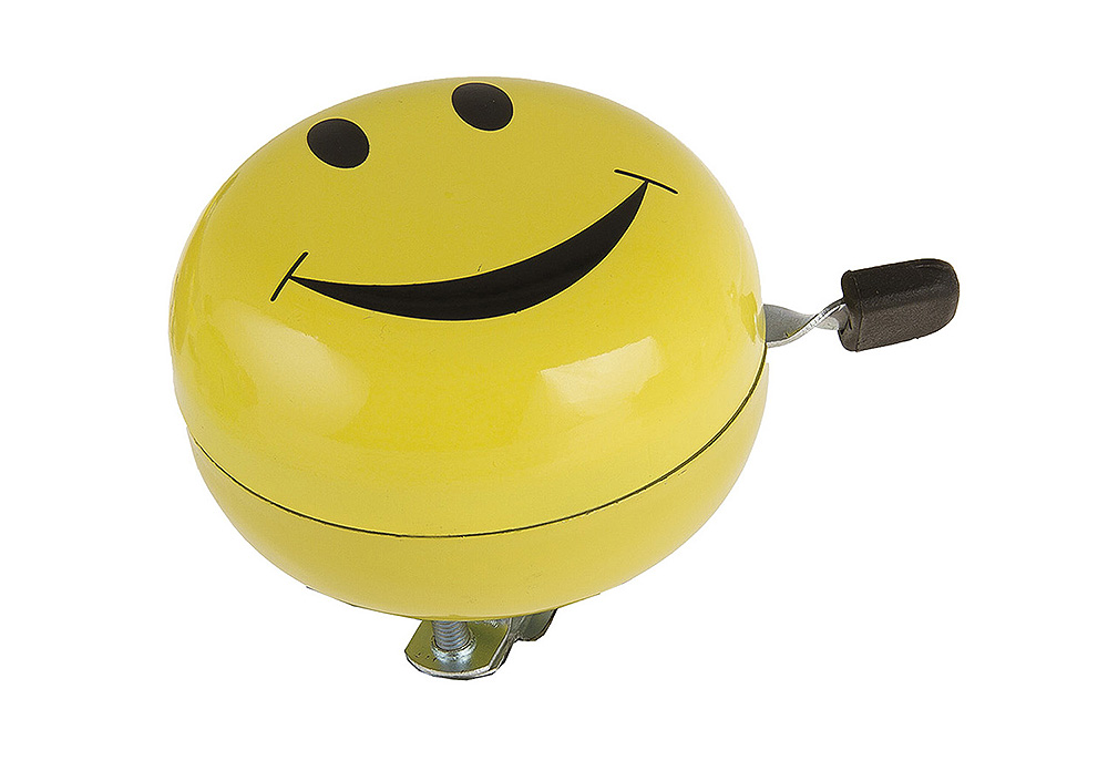 Zvono Ding Dong SMILEY Yellow MS 420311