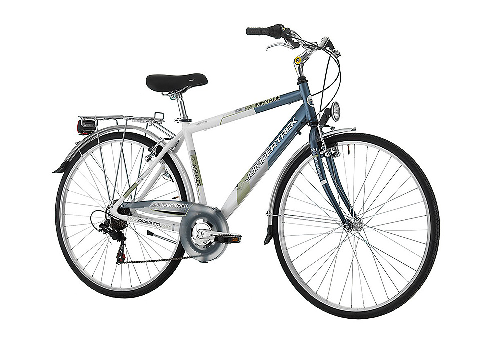 "Jumpertrek PROMENADE Man 28"" 6B Black - Silver"