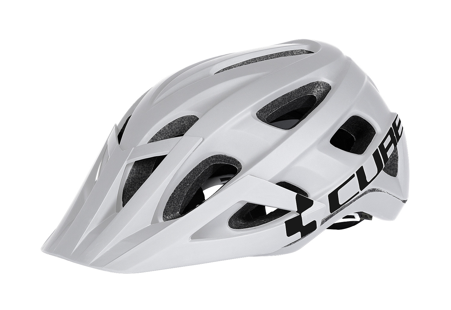 Kaciga Cube AM RACE White/Black 16046
