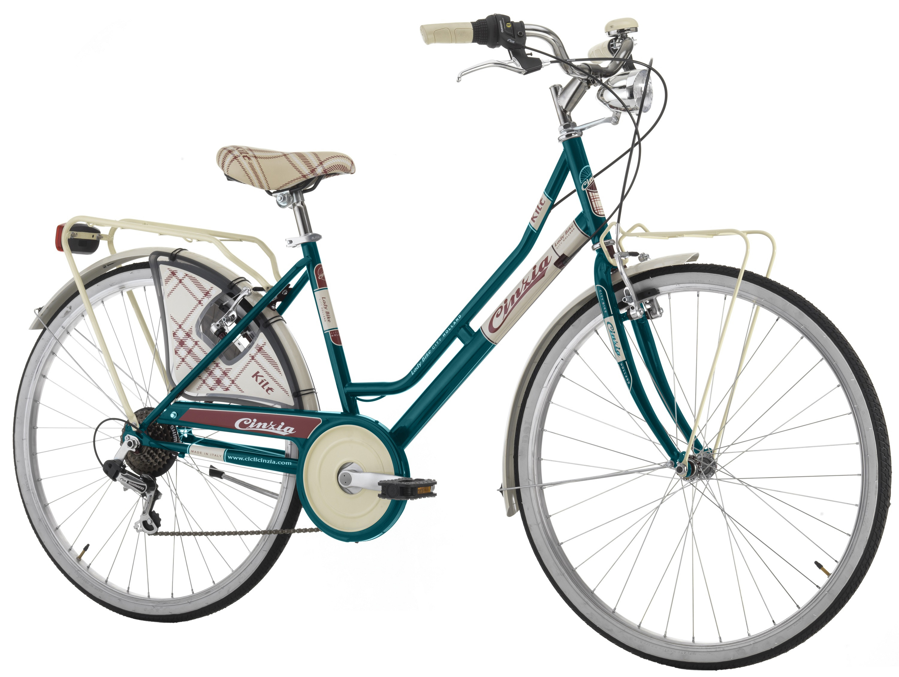 "Cinzia 26"" KILT LADY 6B V-Brake Green"