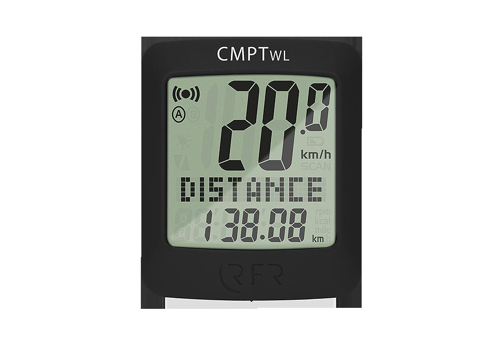 Ciklokompjuter RFR CMPT Wireless black 14011