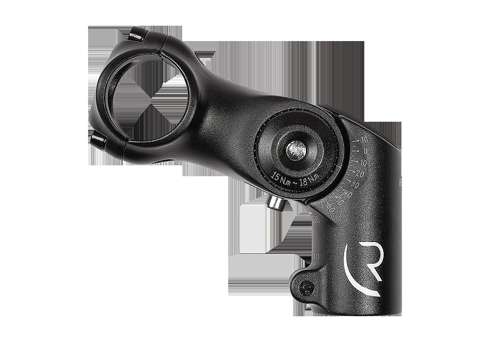 Adapter za podešavanje visine lule volana RFR 31.8X80 mm Blk 13414