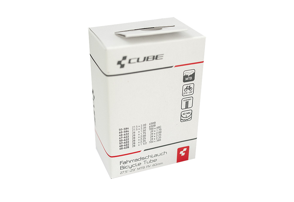 """Zračnica Cube 27.5""""/29"""" X 2.35 AV 40mm"""