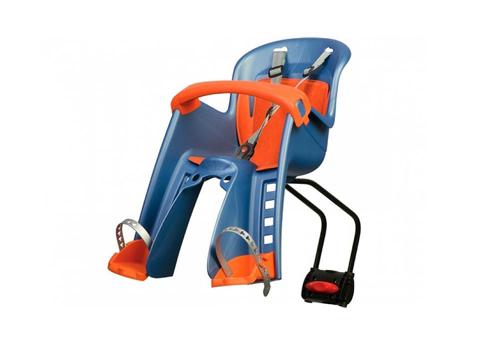 Sjedalo za dj. prednje BILBY JR. stražnja montaža Blue/Orange Polisport