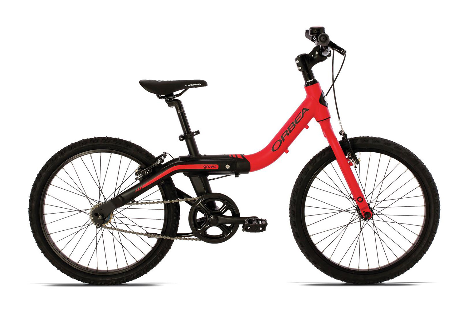 "Orbea GROW 2 1B Red-Black 2015, 20"", 6+"