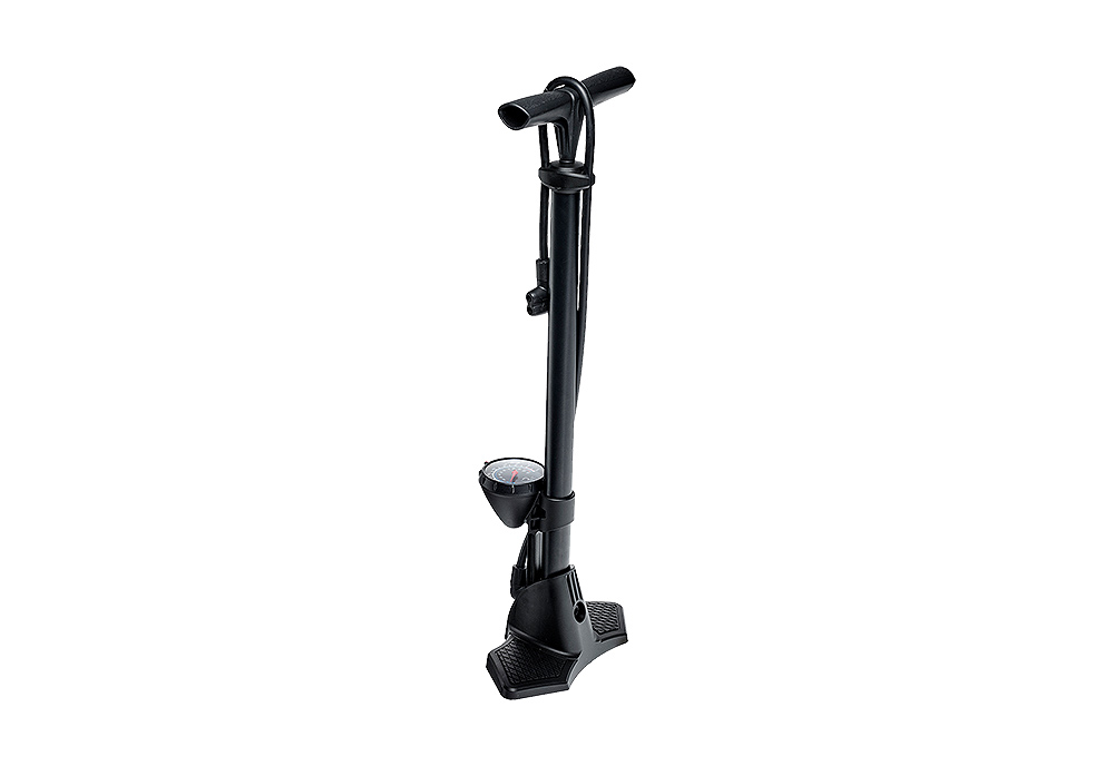 Pumpa stabilna RFR FLOORPUMP Glossy Black-Red