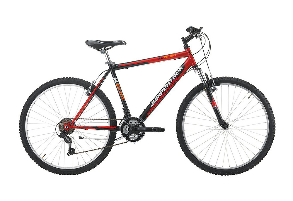 "Jumpertrek X-TRAIL Men 18B 26"" Red-Black-Red"