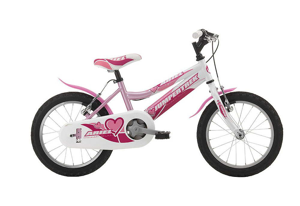 "Jumpertrek ARIEL Girl 16"" Pink-White"