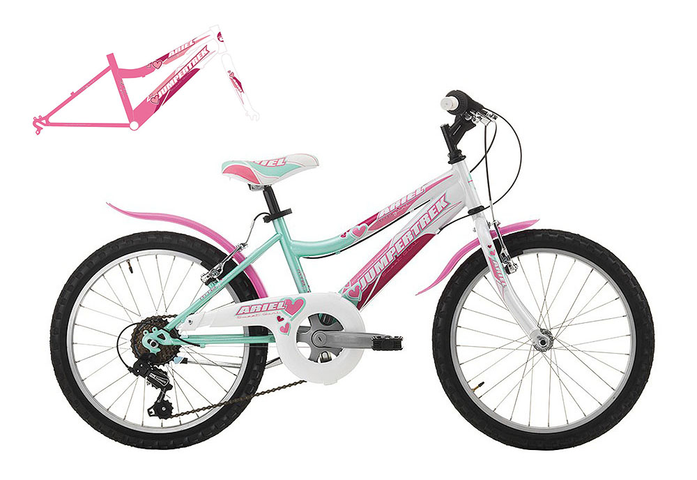 "Jumpertrek ARIEL Girl 20"" Pink-White"