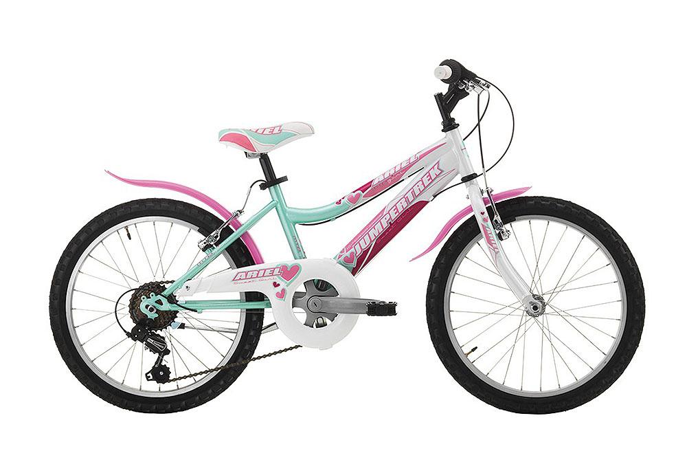 "Jumpertrek ARIEL Girl 20"" Pink-White"