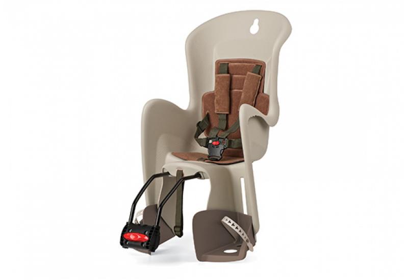 Sjedalo za dj. stražnje BILBY na ramu Cream/Brown Polisport