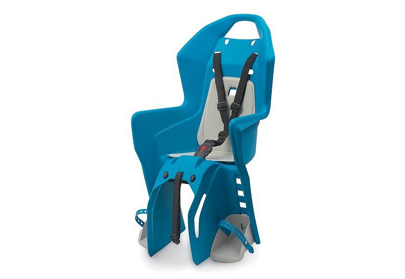 Sjedalica za djecu Polisport KOOLAH stražnja na nosač RMS Plava/Krem