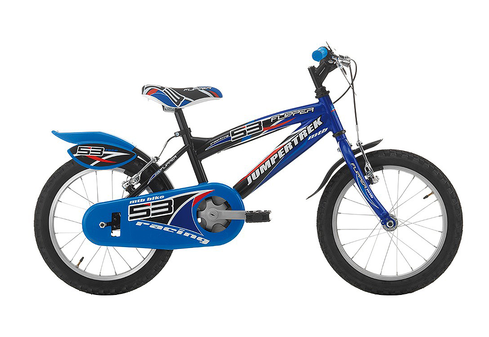 "Jumpertrek FLIPPER Boy 16"" Black/Blue"