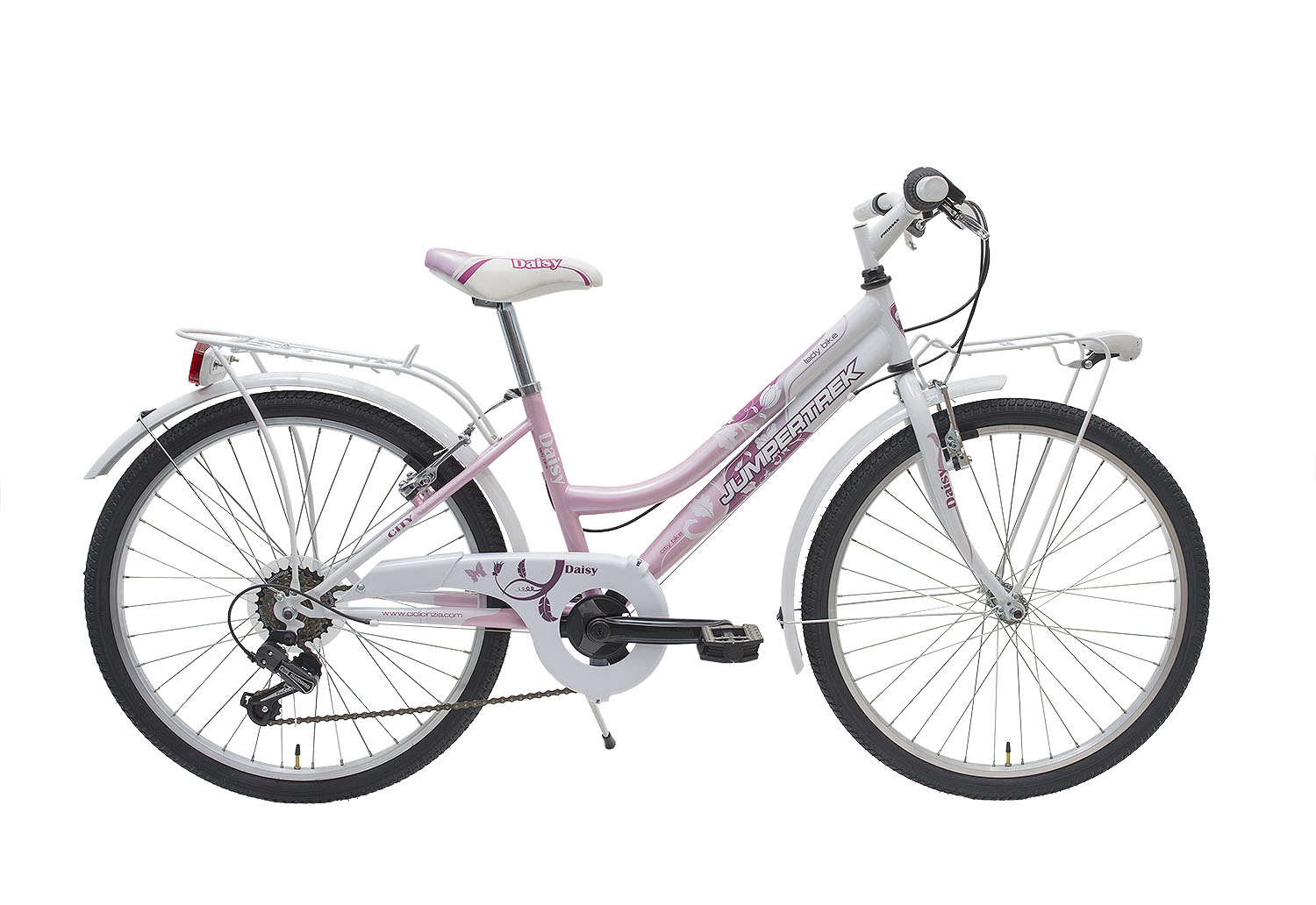 "Jumpertrek 24"" DAISY Girl 6B White-Pink"