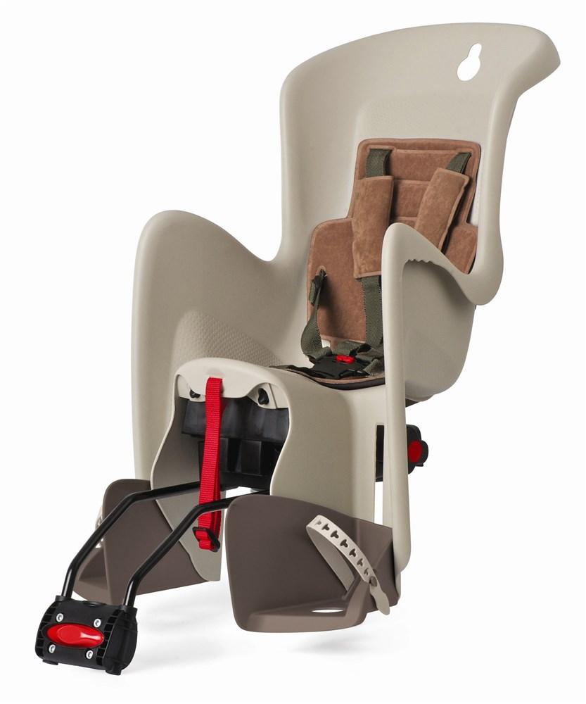 Sjedalo za dj. stražnje BILBY RS podesiva Cream/Brown Polisport