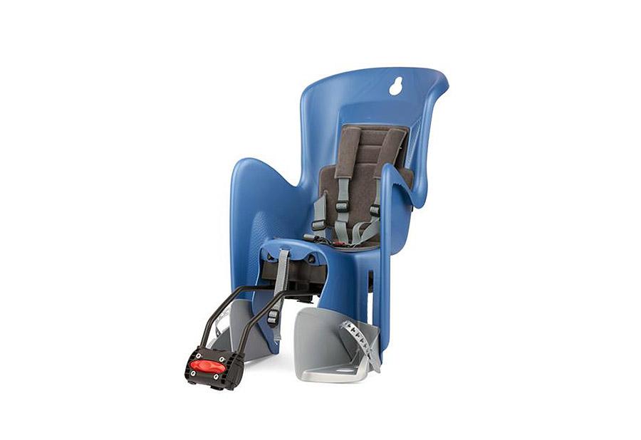Sjedalo za dj. stražnje BILBY na ramu Blue/Silver Polisport