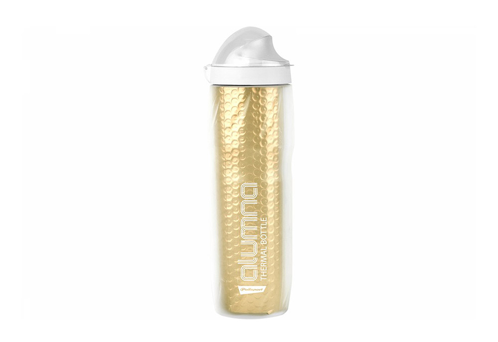 Bidon Polisport ALUMNA Thermal 500ml Clear-Gold