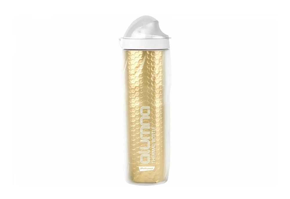 Bidon Polisport ALUMNA Thermal 500ml Clear-Gold