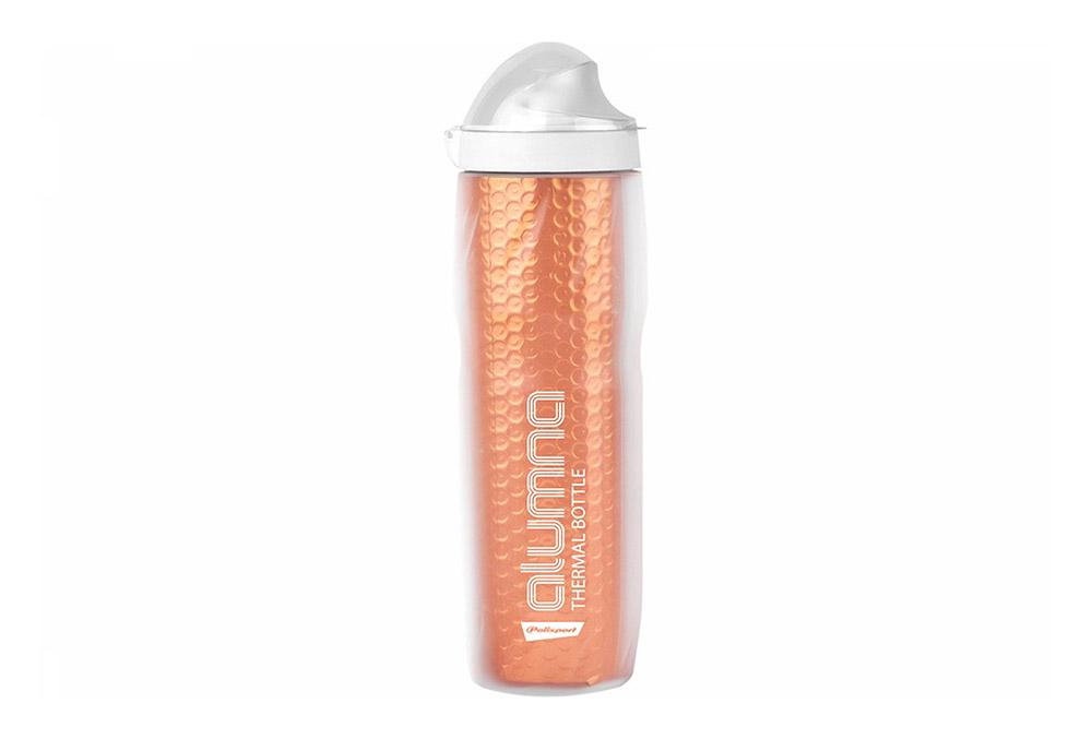 Bidon Polisport ALUMNA Thermal 500ml Clear-Orange