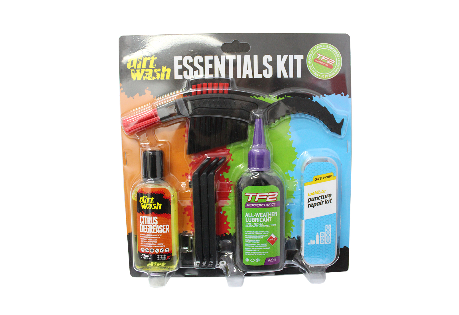 Set za održavanje bicikla TF2 ESSENTIALS KIT WELDTITE 06025