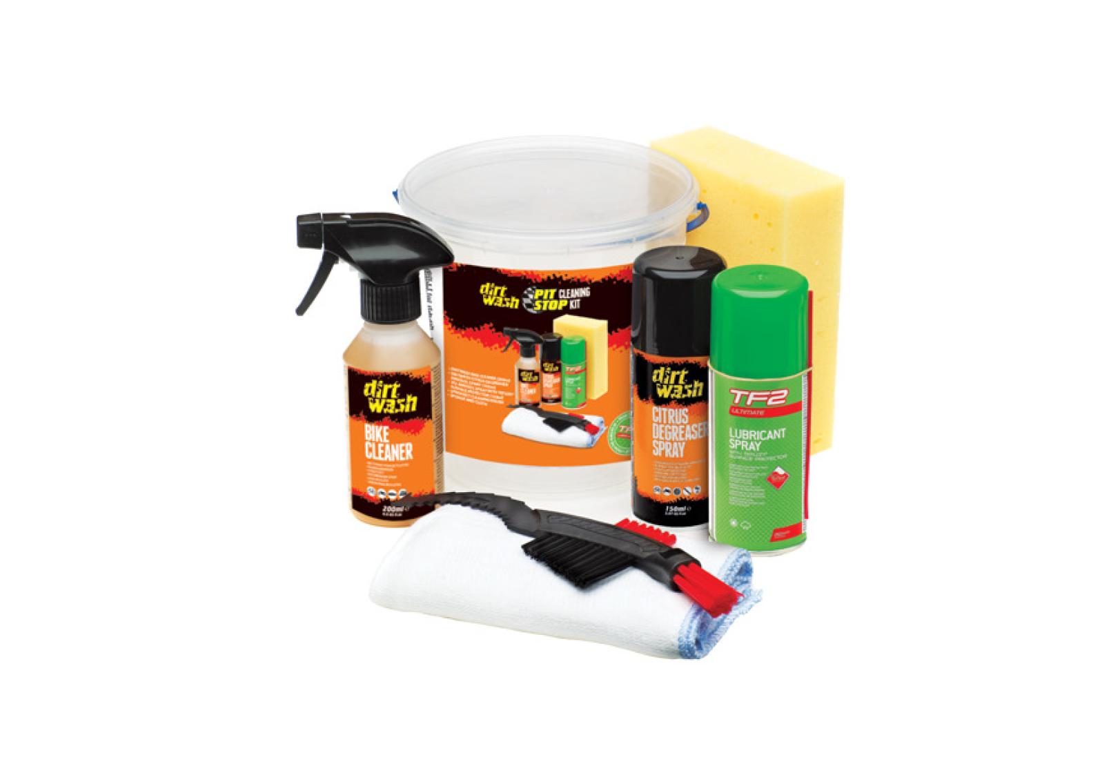 Set za održavanje bicikla TF2 PIT STOP CLEANING KIT WELDTITE 03044