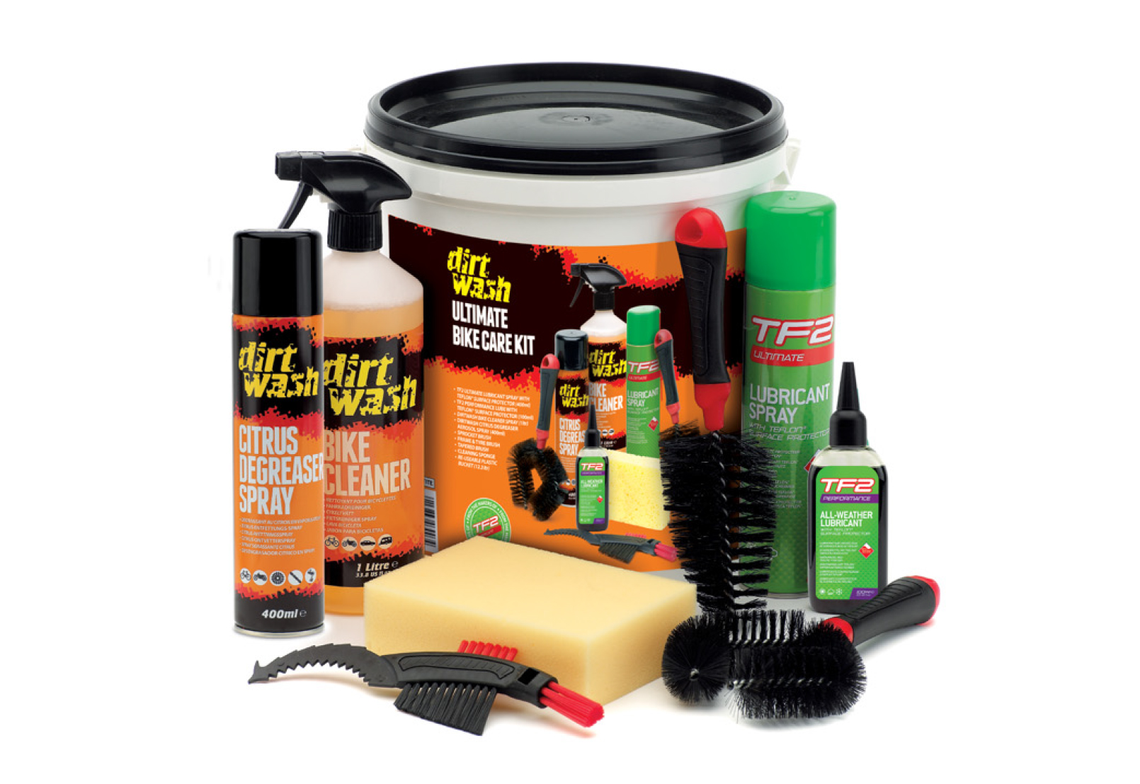 Set za održavanje bicikla TF2 ULTIMATE BIKE CARE KIT WELDTITE 03003