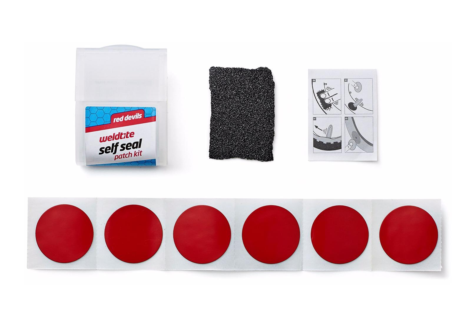 Set samoljepljivih zakrpa RED DEVIL 6 KOM SMALL WELDTITE 01023