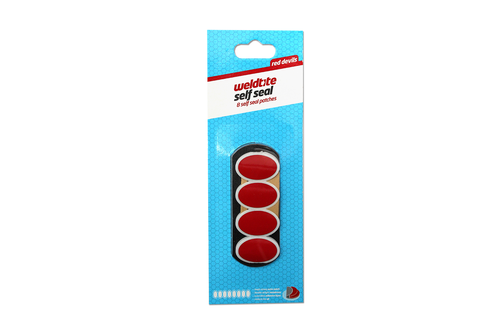 Set samoljepljivih zakrpa RED DEVIL 8 KOM WELDTITE 04006