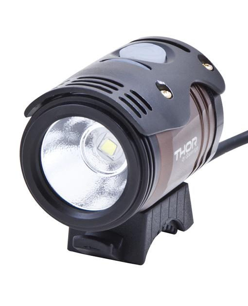 Lampa prednja+punjač THOR 12W Spanninga