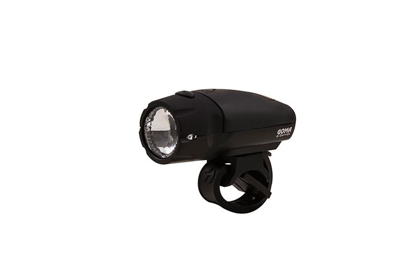 Lampa prednja GOMA XB Black Spanninga