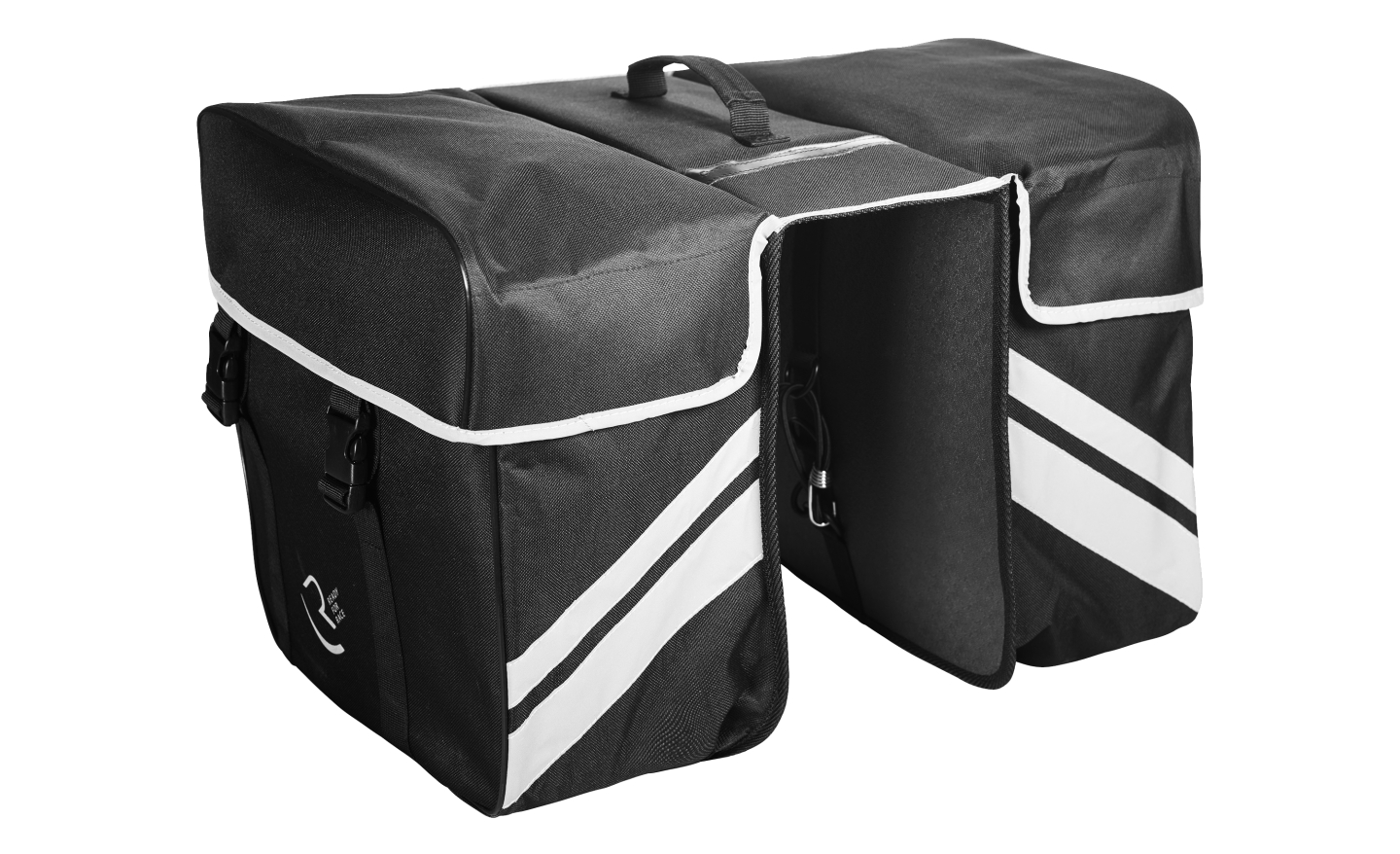 BISAGE RFR REAR CARRIER BAG DOUBLE BLACK 14048