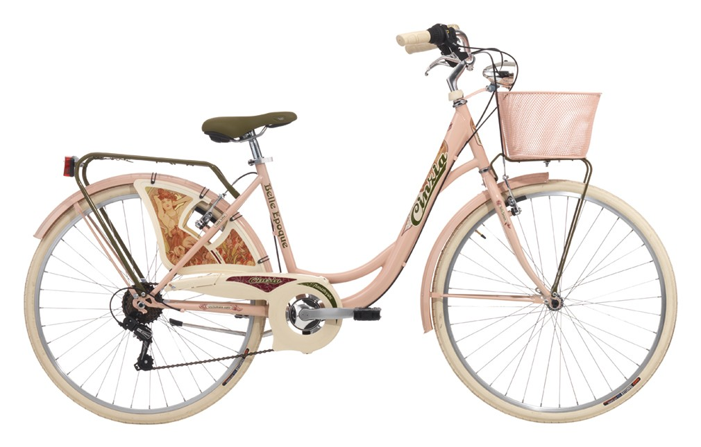 "Cinzia 26"" BELLE EPOQUE Lady 6B V-Brake Powder pink"