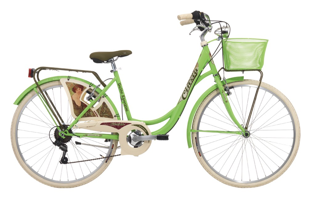 "Cinzia 26"" BELLE EPOQUE Lady 6B V-Brake Apple green"