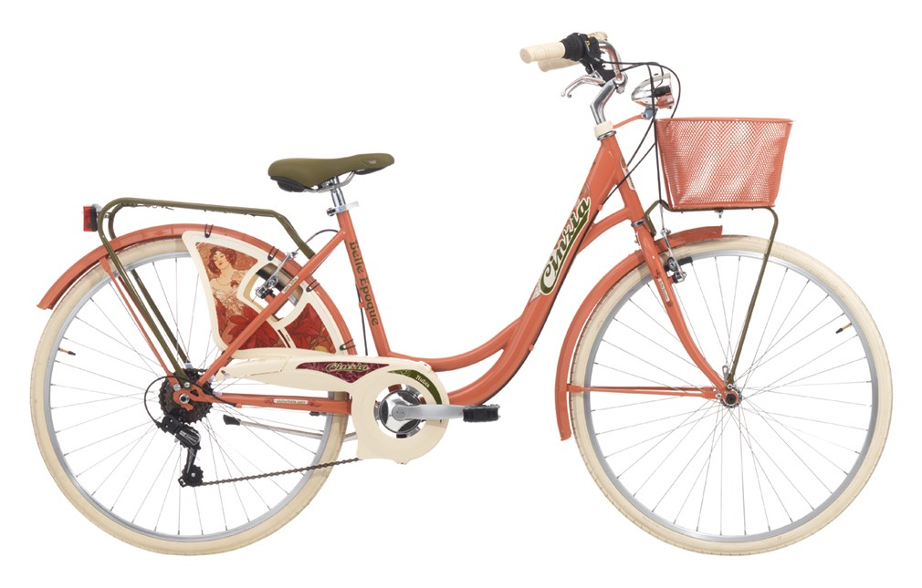 "Cinzia 26"" BELLE EPOQUE Lady 6B V-Brake Rubine red"