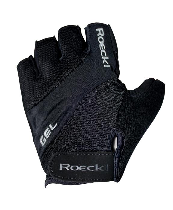 Rukavice Roeckl kratki prsti SMU Gel Black
