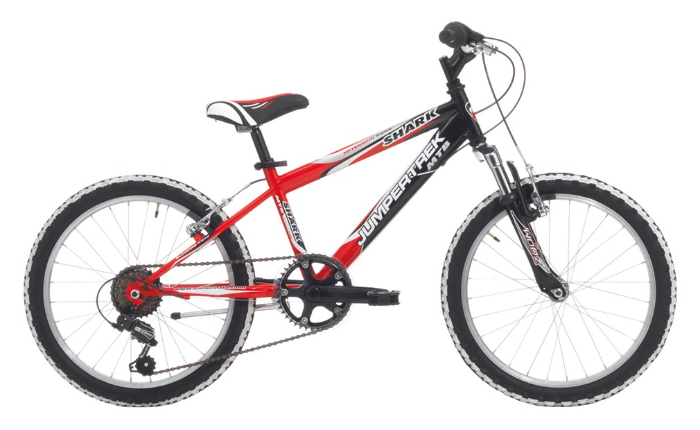 "Jumpertrek 20"" SHARK BOY 6B V-Brake Black/Orange"