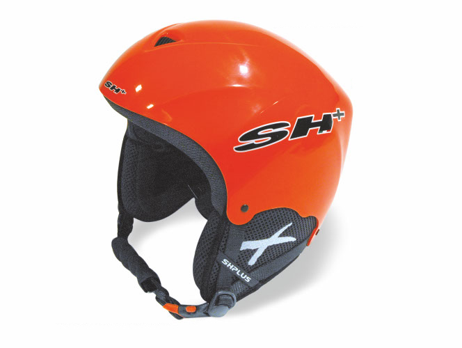 Kaciga SKI SH+ PADS Junior Adj Orange Fluo