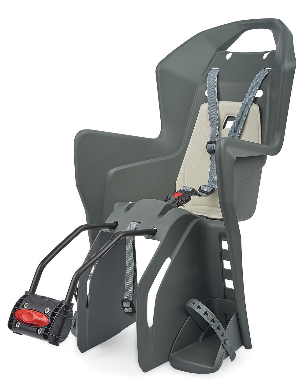 Sjedalo za dj. stražnje KOOLAH na ramu Charcoal Grey/Cream Polisport