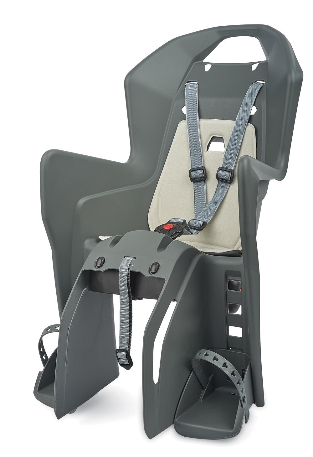 Sjedalo za dj. stražnje KOOLAH na nosač CFS Charcoal Grey/Cream Polisport
