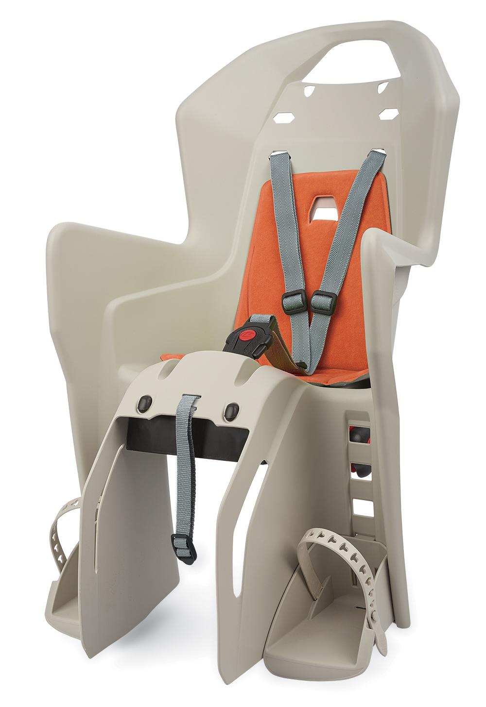 Sjedalo za dj. stražnje KOOLAH na nosač CFS Cream/Orange Polisport