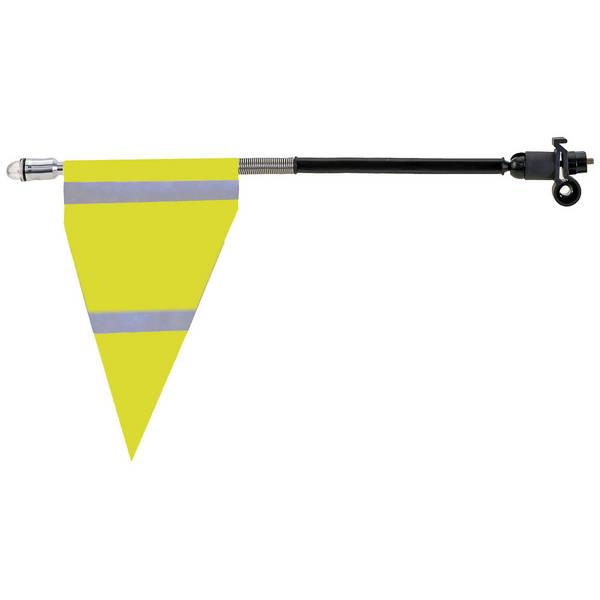Zastavica signalna za bicikl + LED svjetlo MS 120970