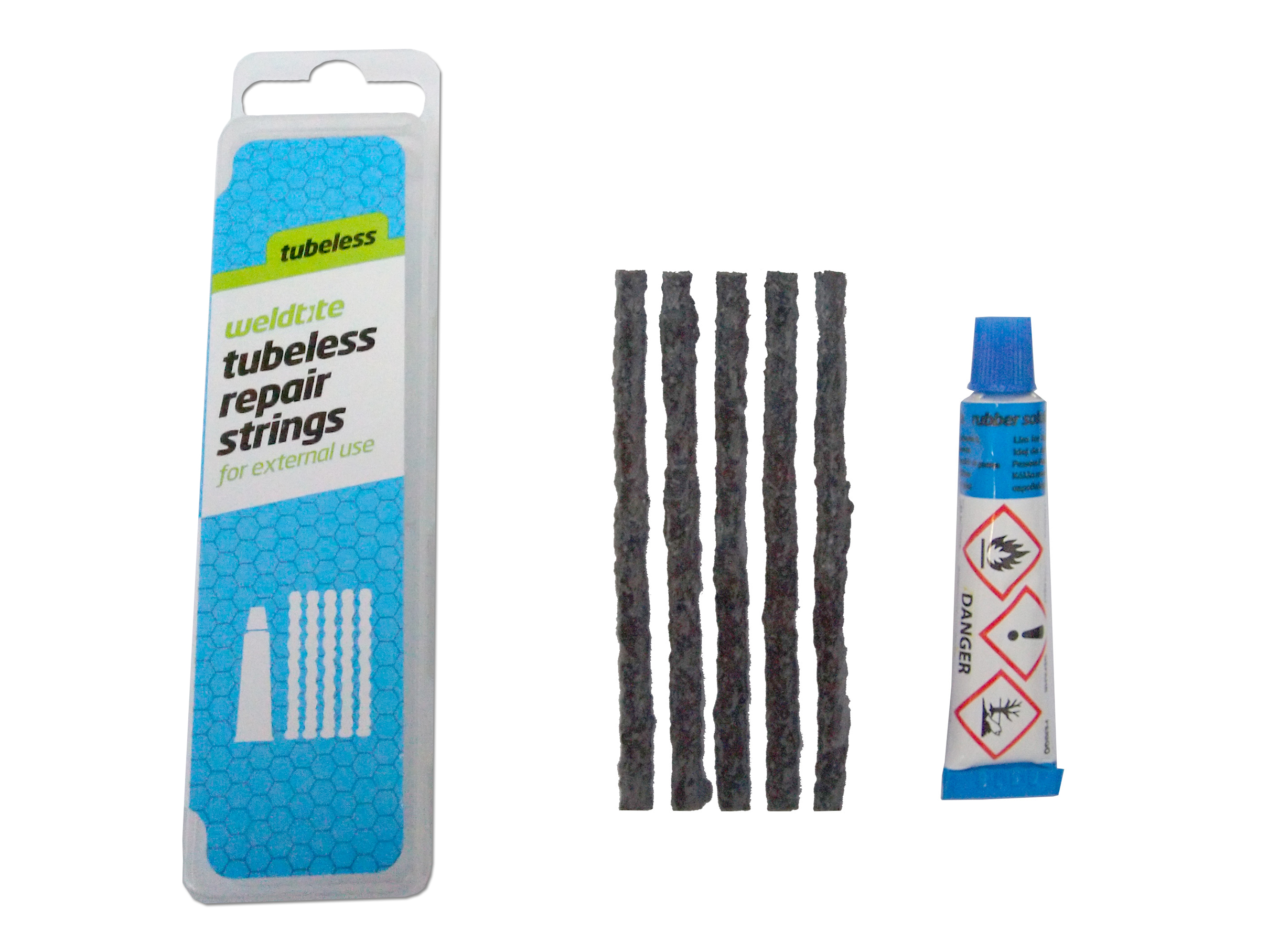 Set za krpanje Weldtite TUBELESS REFILL REPAIR KIT 04040