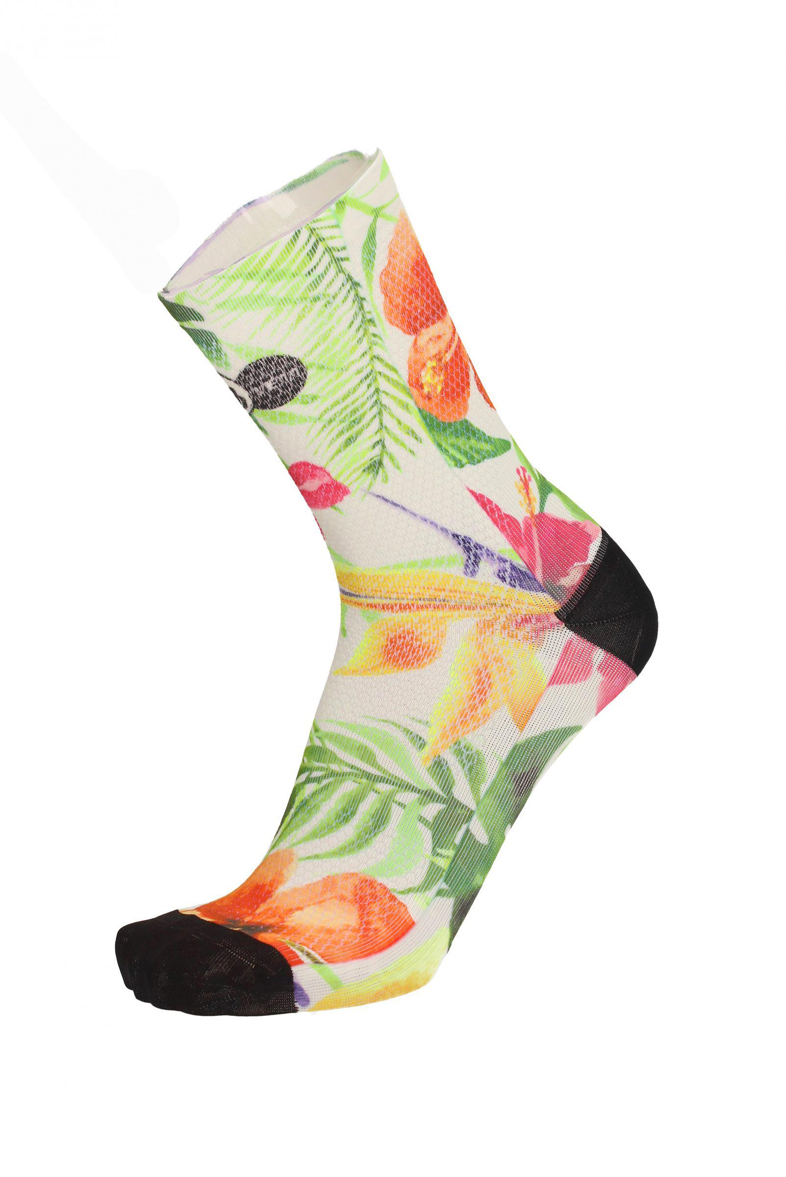Čarape MBWear FUN 15 Flowers