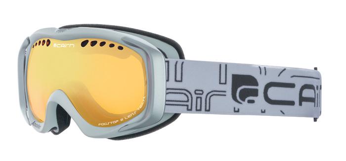Ski maska Cairn BOOSTER spx 1000 Mat White Mat Silver