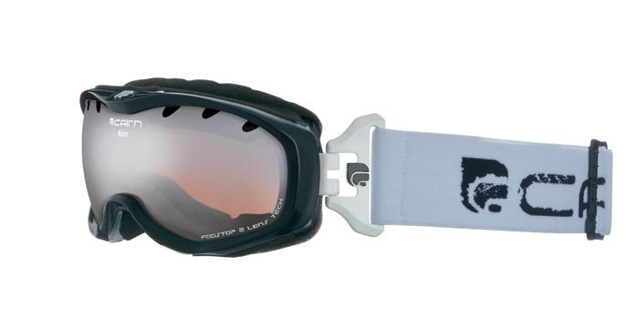 Ski maska Cairn RUSH spx 3000 Shiny Black White