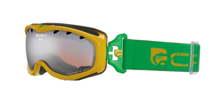 Ski maska Cairn RUSH spx 3000 Shiny Yellow Green