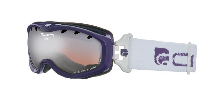 Ski maska Cairn RUSH spx 3000 Shiny Purple White
