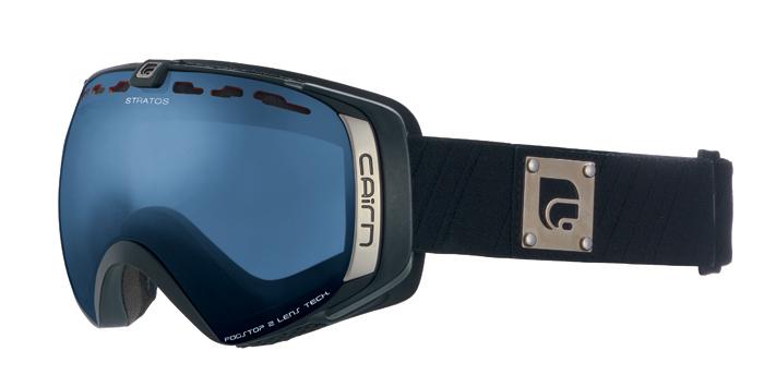 Ski maska Cairn STRATOS spx 3000 Mat Black Black