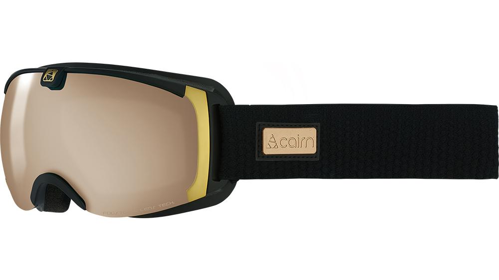 Ski maska Cairn PEARL spx 2000 ium Mat Black Gold